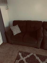 Couch and love seat from Ashley's furniture.