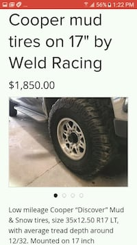 black and gray vehicle wheel with tire 2369 mi