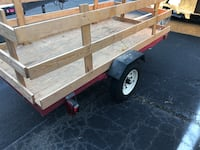 1720 lbs. Capacity 48 in. x 96 in. Super Duty Folding Trailer Sterling, 20166