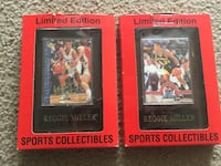 Reggie Miller Collectable Cards  Greenwood, 46143