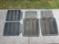 All Weather Front and Rear Car Floor Mats / Truck Calgary