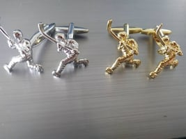 Hockey Player Cufflinks