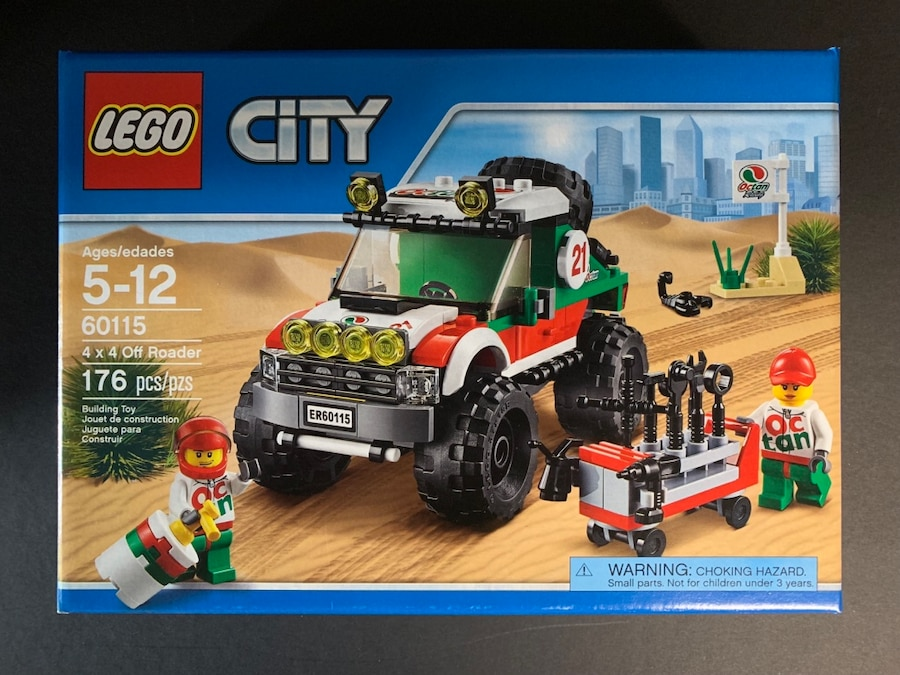 4 x 4 Off Roader LEGO City Great Vehicles 60115 Brand New