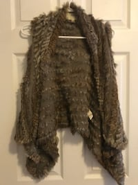 Rabbit Fur Vest Small  TORONTO