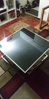 Glass Black and Silver Coffee Table Hyattsville, 20782