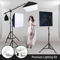 3-Point Continuous Softbox Lighting Kit Toronto