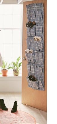 Blue gridlock hanging shoe organizer Wilmington, 28403