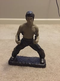 Bruce Lee Clay Sculpture Silver Spring, 20906