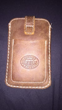 Brown Genuine Roots Leather Case