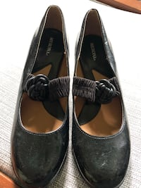 New Merona Shoes - Black, 9.5 Annapolis, 21403