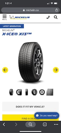 205-60-r16 Michelin xi3 winter tires