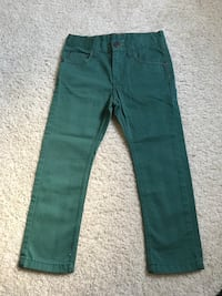 green denim straight-cut jeans Doral, 33178