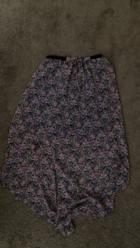 purple , white and pink floral midi skirt Columbia, 29212