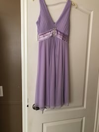 Iight purple dress size medium worn once Calgary, T2A