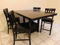 Tall Dining Table w/4 chairs McAllen, 78503