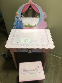 Cinderella princess vanity matching stool Winnipeg, R2L 1S2