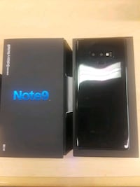 black Samsung Galaxy Note 9 with box 17 mi