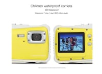 BRAND NEW SEAL IN BOX Best choice for Christmas Gift Camera 12MP HD Waterproof Camcorder with 2 Inch LCD 4x Optical Zoom and Mic 9.9 ft Waterproof Camera