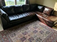 Ashley leather sofa sectional Fisherville, 01560