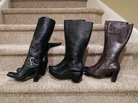 $50ea New Leather Boots All Size 8 w/ full zippers Woodbridge, 22193