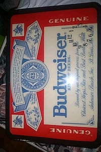 Budweiser /King Of Beers/Collectors/Wall decor