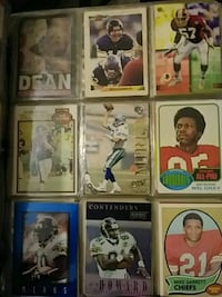 nine football player trading cards Denver, 80204