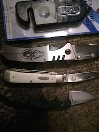 Case, spyderco and crkt. Knives Greenville, 29611