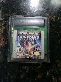 Star wars game for gameboy color Ontario, 91762