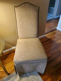 2 Gold chairs $50 each. Excellent condition.