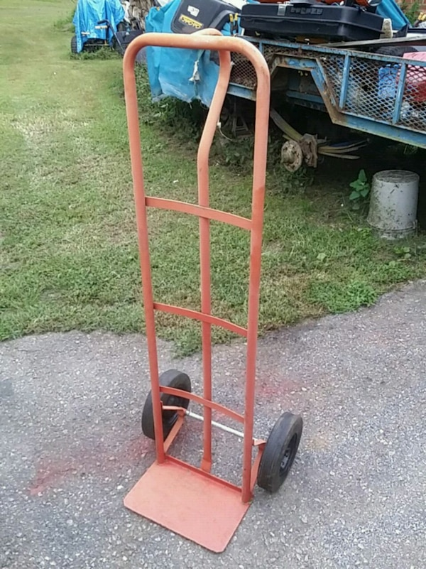 HAND CART, SOLID TIRES