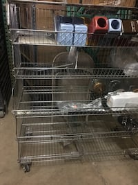 Wire shelving stainless steel