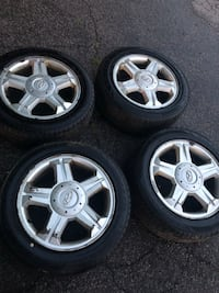 16 inch Hyundai rims with tires Boston, 02132