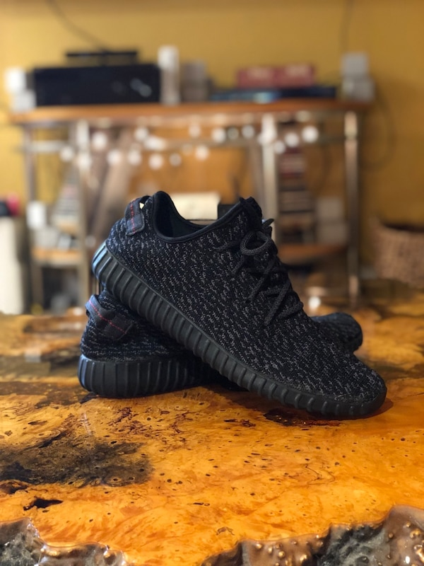 separation shoes 4eec2 3d572 Yeezy Boost 350 (Pirate Black)