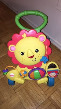 Fisher-Price Musical learning lion walker