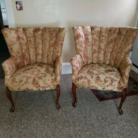 Two wingback chairs 668 mi