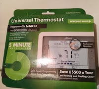 universal thermostat programmable max box Laurel, 20707