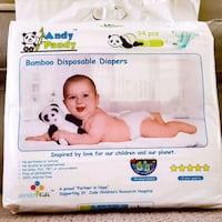 Andy Pandy Eco Friendly Diapers,  Walton Hills, 44146