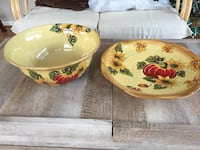 Holiday platter and bowl price is both Nokesville, 20181