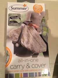 Summer infant all-in-one carry and cover in the box. Milford, 01757