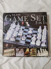 3 in 1 Glass Game Set