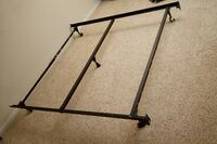 queen size metal frame with wheels 373 mi