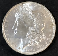 1888-P Morgan Silver Dollar BU Redding