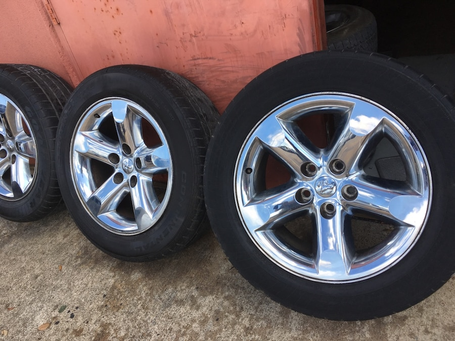 Used Factory Dodge Ram Or Durango Dakota Rims 20 Inch In