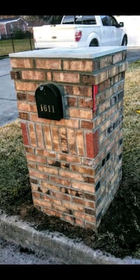 Brick Mailbox - $850 and up...