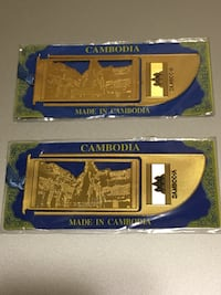 2 Cambodia book page holder (New) Vaughan, L4J 9A4