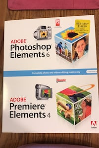 Adobe Photoshop Elements 4 & 6 combo pack Midwest City, 73110