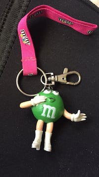m&m keychain Washington, 84780