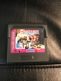 Sega Game Gear Streets of Rage 2 (cartridge only).