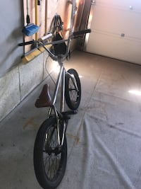 FITBIKECO custom bmx, No paint, needs a clear coat or paint job/left bolt is missing other than than its completely functional started as a project but lost interest, 400$ value negotiable make and offer Kitchener, N2E 3P6