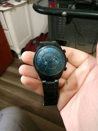 Black and Blue fossil watch,  lightly used Marvin, 28173